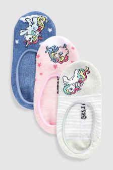 My Little Pony Footsie Three Pack (Older)