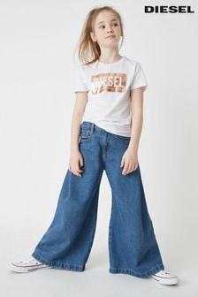 Diesel® Kids Mid Wash Izzier Jeans