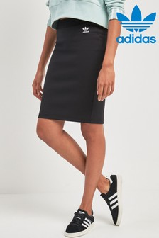 adidas Originals Black Midi Skirt