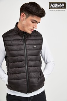 Barbour® International Black Reed Gilet