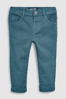 Soft Stretch Twill Trousers (3mths-7yrs)