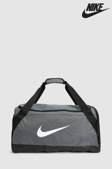 Nike Grey Brazillia Duffle Bag