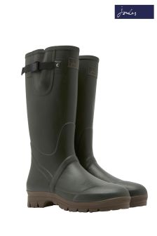 Joules Green Mens Neoprene Lined Field Welly