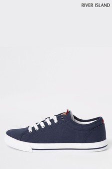 River Island Lace-Up Plimsoll