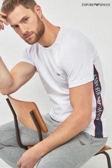 Emporio Armani側邊標誌T恤
