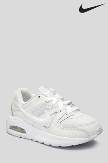 Nike White Air Max Command Junior