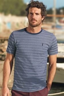 Pique Stripe T-Shirt