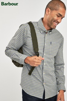 Barbour® Green Gingham Shirt