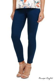 Phase Eight Petrol Amina Side Zip Jegging