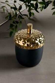 Luxe Acorn Candle