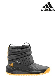 adidas Grey RapidaSnow Junior Boots