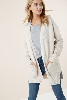 Edge To Edge Neppy Cardigan