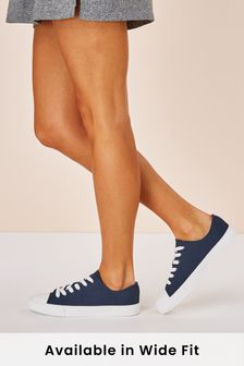 Baseball Canvas Trainers