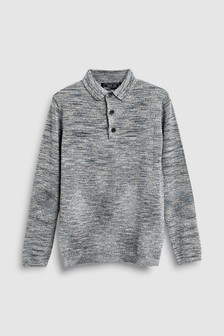 Long Sleeved Polo (3-16yrs)