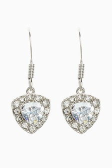 Platinum Plated Earrings