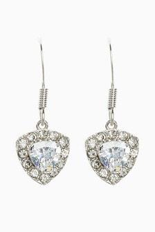 Platinum Plated Earrings