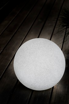 Concrete Effect Solar Ball