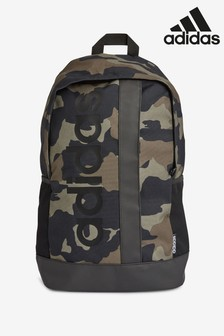 adidas Camo Linear Logo Backpack