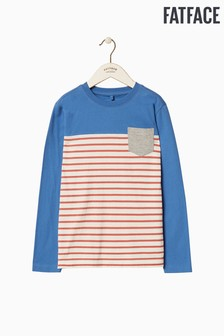 FatFace Placement Pocket Stripe Tee