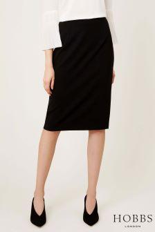 Hobbs Black Madison Skirt