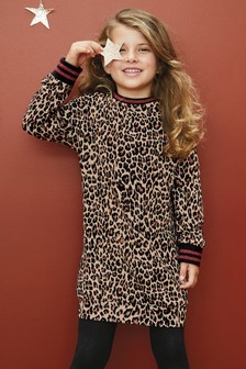 Jacquard Jumper Dress (3-16yrs)