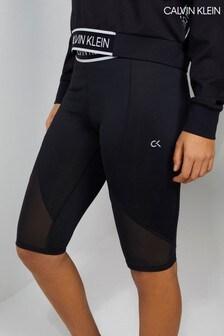 Calvin Klein Black Cropped Tight