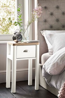 Hanley Storage 1 Drawer Bedside Table