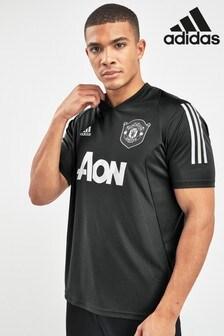 adidas Black Manchester United Football Club Training Jersey