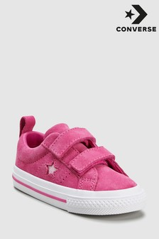Converse Infant One Star Velcro Trainer