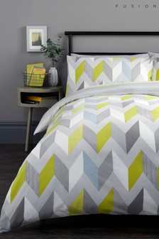 Fusion Grafix Duvet Cover and Pillowcase Set
