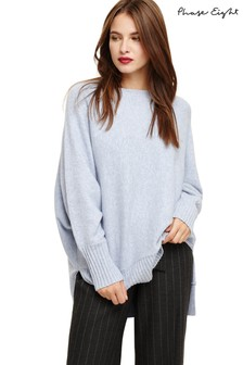 Phase Eight Blue Soft Knit Jumper