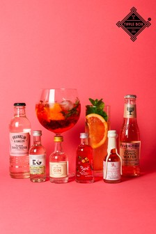 Pink Gin And Tonic Kit by Tipplebox