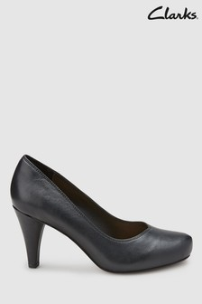 Clarks Black Dalia Rose Court Shoe