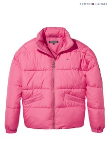 Tommy Hilfiger Pink Padded Jacket