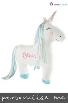 Personalised Unicorn Novelty Cushion by Loveabode