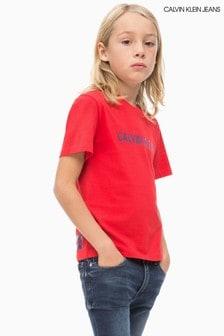 Calvin Klein Jeans T-Shirt für Jungen mit Logo