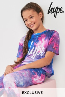 Hype. Galaxy Crop Tee