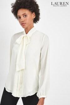 Lauren Ralph Lauren® Cream Aden Blouse