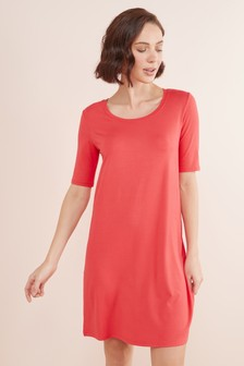 שמלת חולצת טי ג'רזי