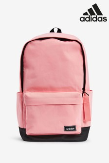 adidas Pink Small Logo Backpack