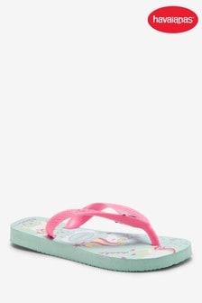 Havaianas® Kids Ice Blue Print Flip Flop