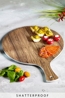 Wood Effect Melamine Serve Board