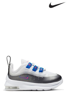 Nike White/Blue/Pink Air Max Axis Infant Trainers