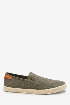 Canvas Jute Slip-On