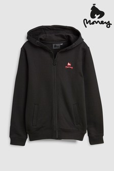 Money® Black Label Logo Zip Through Hoody