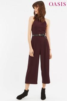 Oasis Purple Meghan Jumpsuit