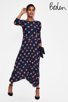 eddc3e2673b6b Boden Blue Maisie Jersey Midi Dress