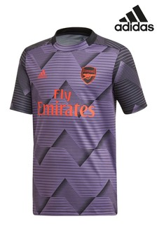 adidas Purple Arsenal FC Pre-Match T-Shirt