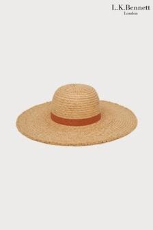 כובע של L.K. Bennett מדגם Lynn בצבע חום