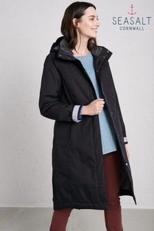 Seasalt Black Black Janelle 2 Coat